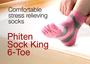 Phiten Sock King 6-Toe