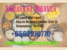 Indian restaurants in Changi business park