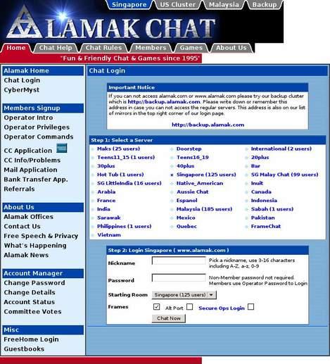 Alamak Chat •
