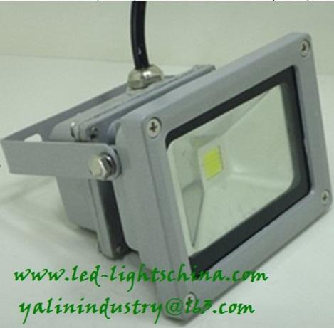 exterior LED floodlight, 10W high power waterproof lighting, outdoor LED food light, stadium lamp