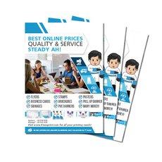 Economic Flyer Printing Services (300 pcs/$100)