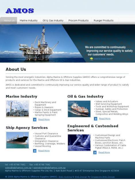 Alpha Marine & Offshore Supplies Pte Ltd