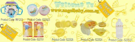 ANGEL BABY - Premium Baby Feeding & Nursing Accessories