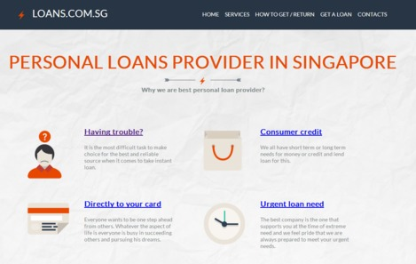 Money Lenders in Singapore