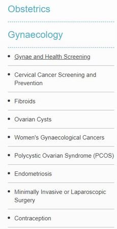 Gynaecology & Obstetrics Services