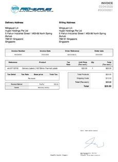 DELIVERY RECEIPTS - CONVERT PAPER INVOICES TO SIGN-ABLE PDFs