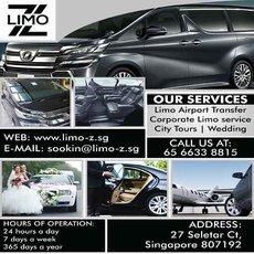 Private Chauffeur Service | LIMO Z PTE. LTD