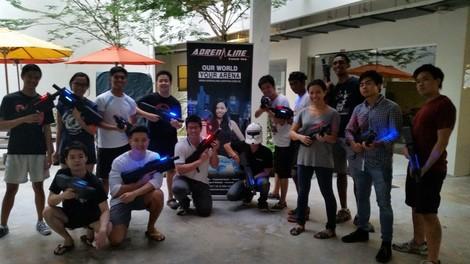 Adrenaline Laser Tag Singapore