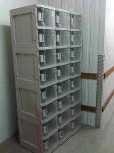 Avios ABS Locker and Plastic Lockers