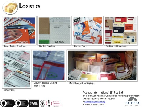 Packing and Packaging for Courier/Logistic industry