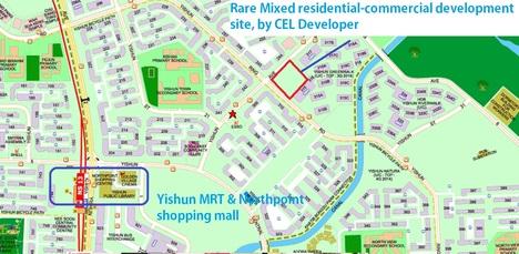 Nine Residence And Junction 9 @ Yishun Ave 9 CEL