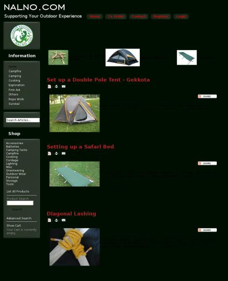 nalno.com Outdoor and Camping Equipment