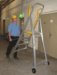 Tilt n Tow ladder