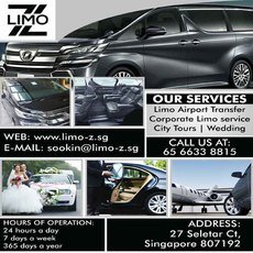 24 Hour Limo Service Singapore   LIMO Z PTE. LTD