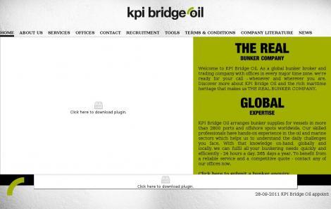 KPI BRIDGE OIL SINGAPORE •