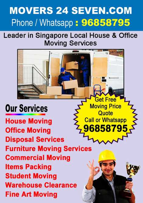 Singapore Movers- House/Office Moving Service